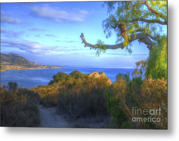 Masterpiece Coastline Metal Print