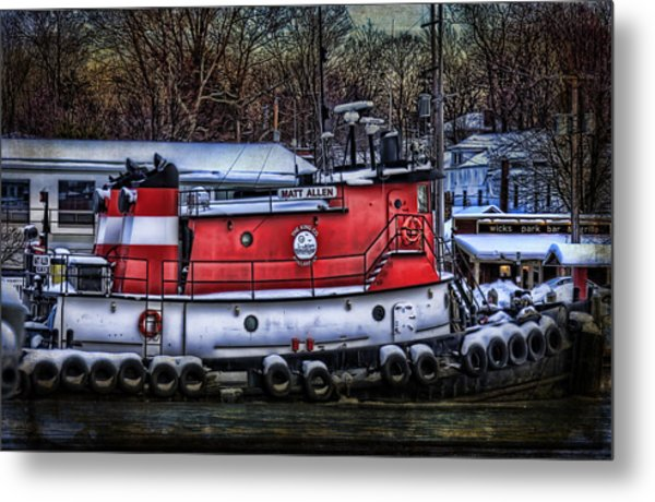 Matt Allen In Saugatuck Michigan Metal Print