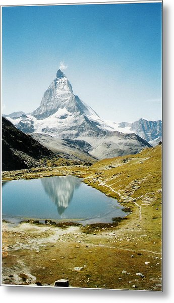 Matterhorn Cervin Reflection Metal Print