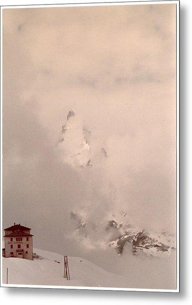 Matterhorn Circa 1970 Metal Print