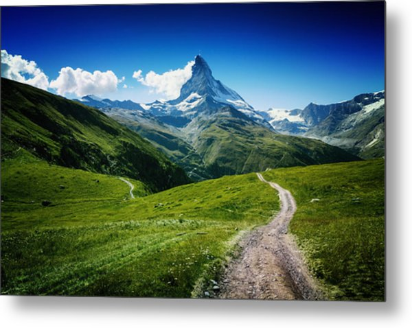 Matterhorn II Metal Print by Juan Pablo De