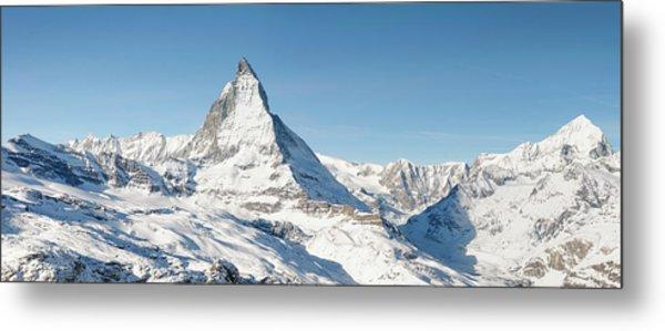 Matterhorn Panorama Metal Print