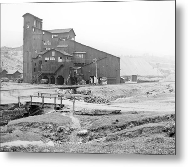 Mauch Chunk Now Jim Thorpe Pennsylvania Coal Mine 1902 Vinta Metal Print