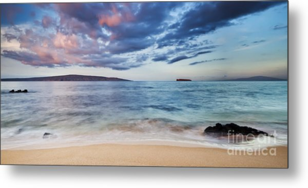 Maui Sunrise With Kahoolawe Molokini And Lanai Metal Print