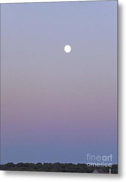 Mauve Moonlight Metal Print