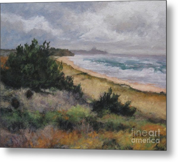May Storm - Montauk Metal Print by Gregory Arnett