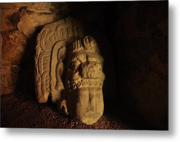 Mayan Tomb Metal Print