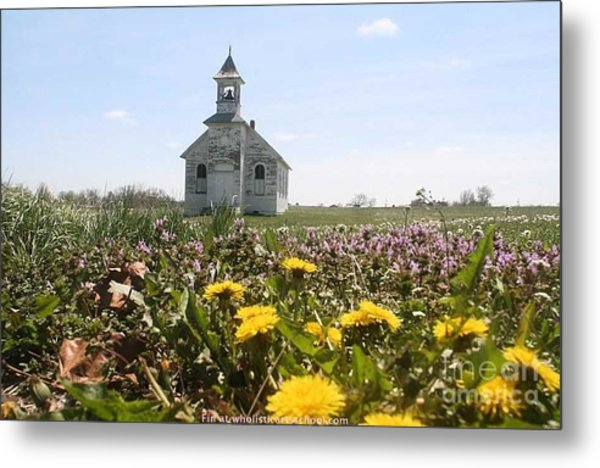 Mayflower Church Metal Print