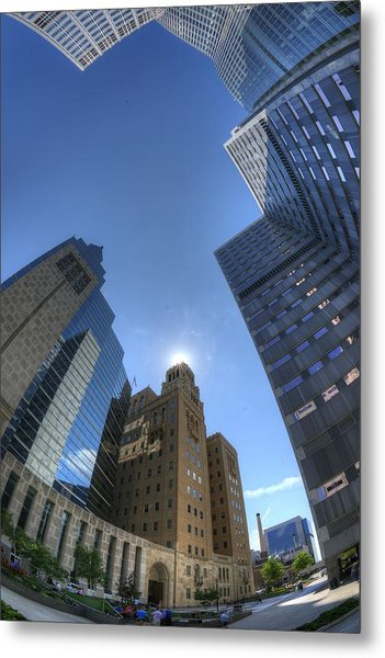 Mayo Clinic In Rochester Metal Print