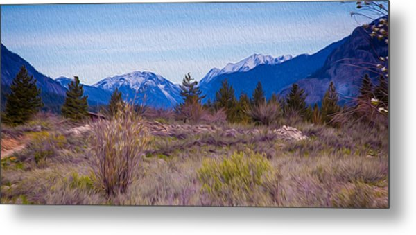 Metal Print featuring the photograph Mazama From Wolf Creek by Omaste Witkowski