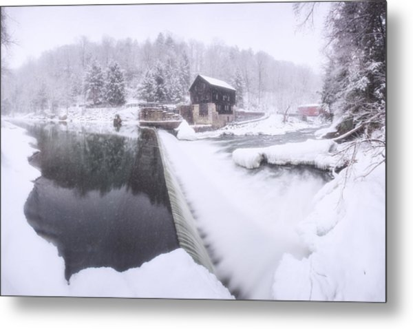 Mcconnell's Mill Winter  Metal Print
