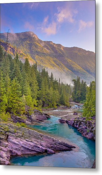 Mcdonald Creek Metal Print