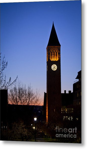 Mcgraw Tower Cornell University Metal Print