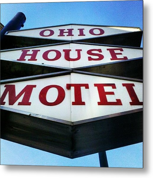 Mcm Motel Metal Print