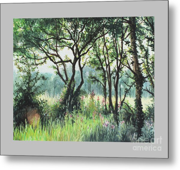 Meadow Metal Print by Caroline Beaumont