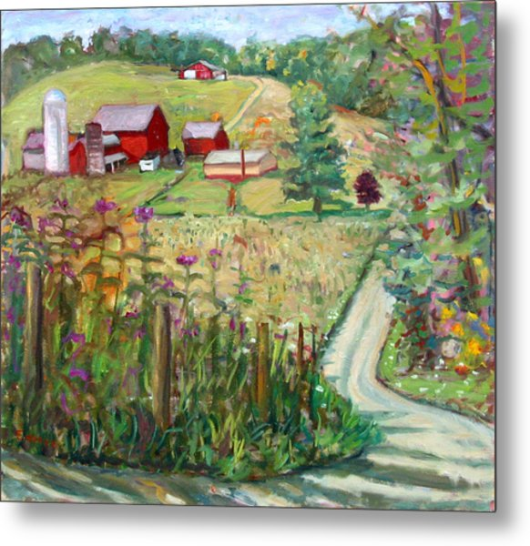 Meadow Farm Metal Print