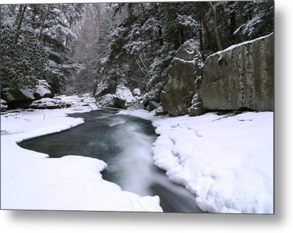 Meadow Run In Ohiopyle Pennsylvania Metal Print
