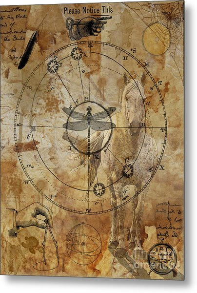 Measure Of The World Metal Print by Judy Wood
