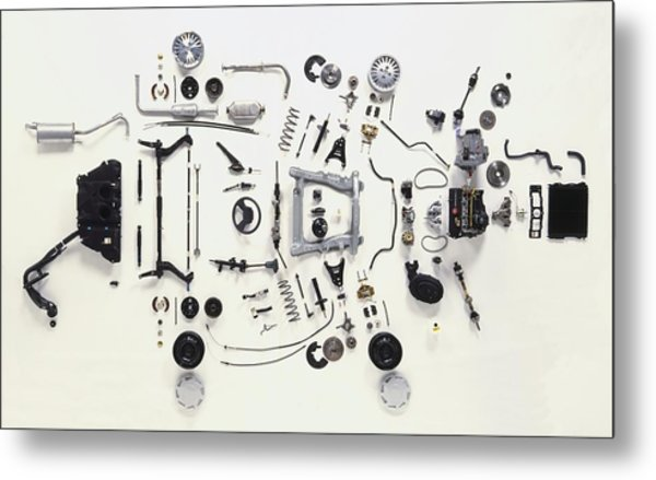Mechanical Components Metal Print by Dorling Kindersley/uig