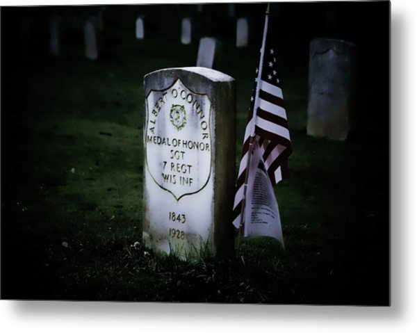 Medal Of Honor Metal Print