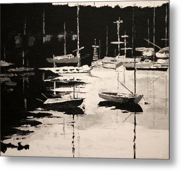 Medford Boat Club Metal Print by Robert Crooker