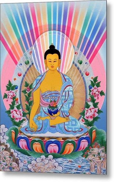 Medicine Buddha 1 Metal Print