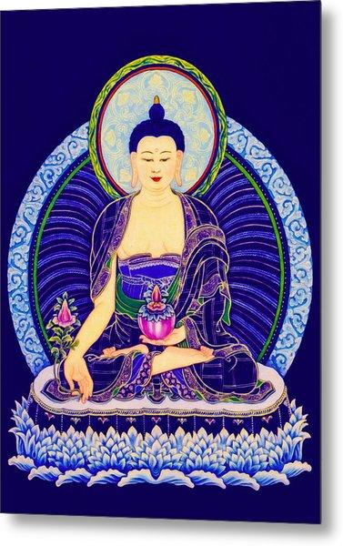 Medicine Buddha 6 Metal Print