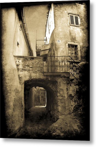 Metal Print featuring the photograph Medieval Croatia by Jennifer Wright