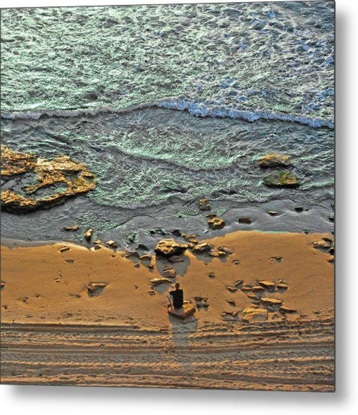 Metal Print featuring the photograph Meditation by Ron Shoshani