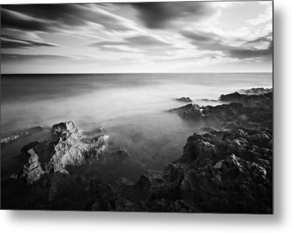 Metal Print featuring the photograph Mediterranean Sunset / Tunisia by Barry O Carroll