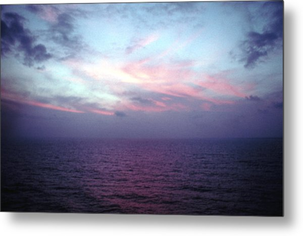 Mediterranen Sunset Metal Print by Tom Wurl