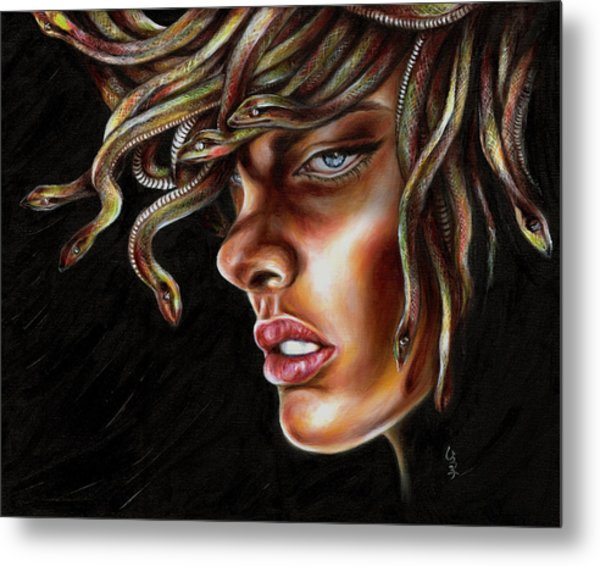 Medusa No. One Metal Print