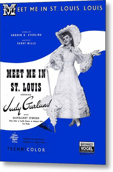 Meet Me In St Louis Louis Metal Print