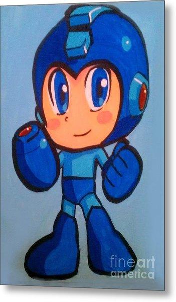 Mega Man Metal Print