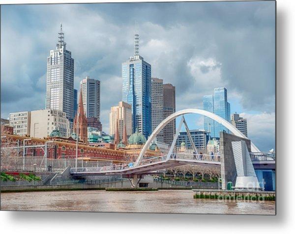 Melbourne Australia Metal Print