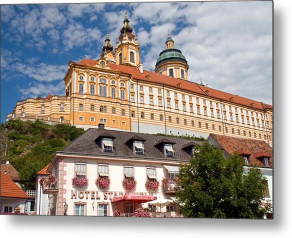 Melk Abbey Metal Print