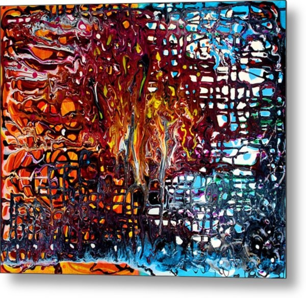 Melting Pot Metal Print by Laura Barbosa