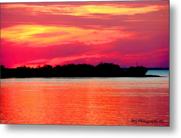 Melting Sky  Metal Print