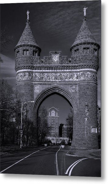 Memorial Arch Hartford Connecticut Metal Print