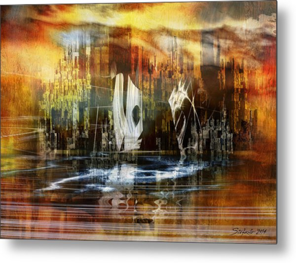 Memories Of Atlantis Metal Print