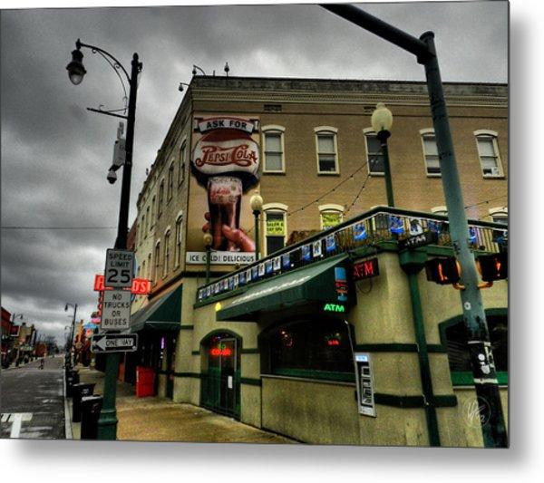 Memphis - Beale Street 006 Metal Print