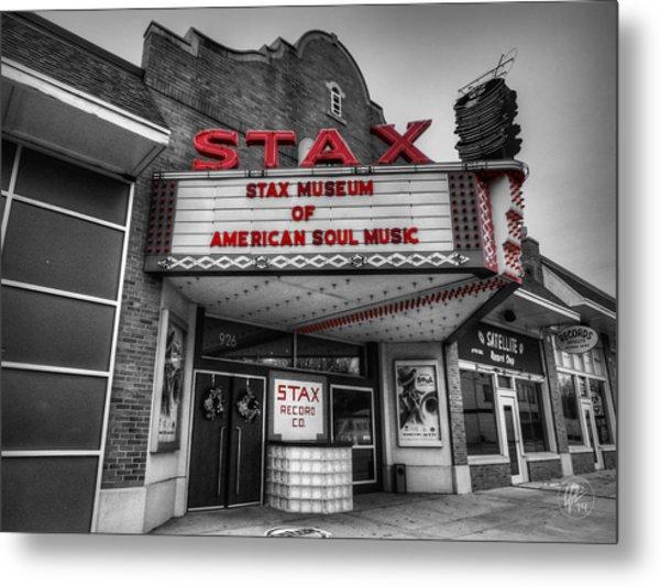 Memphis - Stax Records 001 Ck Metal Print