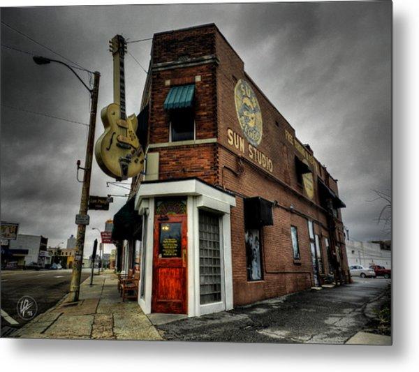 Memphis - Sun Studio 004 Metal Print