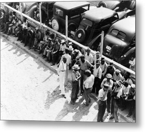 Memphis Unemployed, 1938 Metal Print by Granger