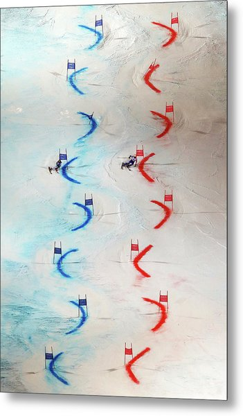 Men And Womens Nations Team Event - Metal Print