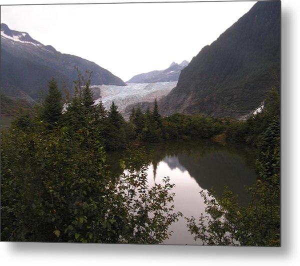 Mendenhall Glacier 1 Alaska Metal Print