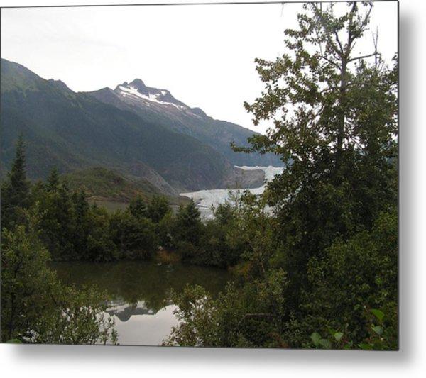 Mendenhall Glacier 2. Alaska Metal Print