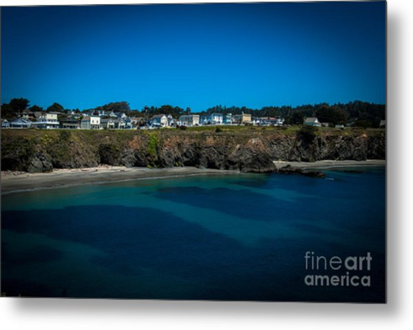Mendocino California Metal Print