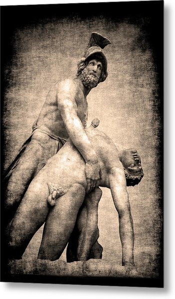 Menelaus And Patroclus In Florence Metal Print