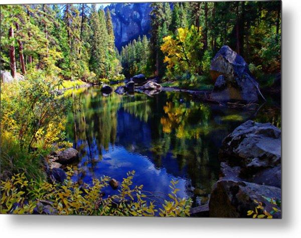 Merced River Yosemite National Park Metal Print